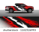 car decal vector  graphic... | Shutterstock .eps vector #1102526993