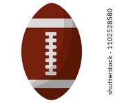 american football sport icon | Shutterstock .eps vector #1102528580