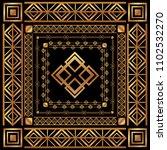 art deco frames and borders | Shutterstock .eps vector #1102532270