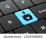 money concept  computer... | Shutterstock . vector #1102538696