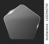 transparent luster crystal... | Shutterstock .eps vector #1102542710