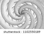 vector halftone stippled... | Shutterstock .eps vector #1102550189