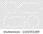 vector asymmetric shape  frame... | Shutterstock .eps vector #1102552289