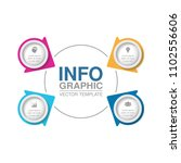 vector infographic template for ... | Shutterstock .eps vector #1102556606