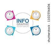 vector infographic template for ...   Shutterstock .eps vector #1102556606