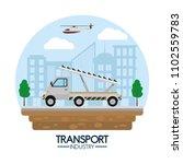 transport industry concept | Shutterstock .eps vector #1102559783