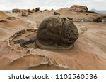 taiwan yehliu geopark   exotic... | Shutterstock . vector #1102560536