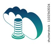 cloud computing data server... | Shutterstock .eps vector #1102563026
