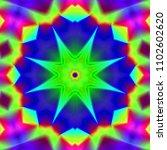 psychedelic background.... | Shutterstock . vector #1102602620