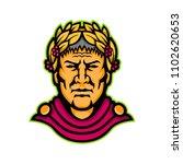 mascot icon illustration of... | Shutterstock .eps vector #1102620653