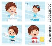 vector illustration of kid... | Shutterstock .eps vector #1102628720