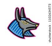 mascot icon illustration of... | Shutterstock .eps vector #1102634573