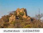Granite Rock Formations In...