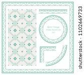 vintage border seamless pattern ... | Shutterstock .eps vector #1102669733