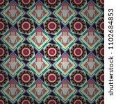 vector geometric blue  beige... | Shutterstock .eps vector #1102684853