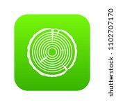 tree ring icon digital green... | Shutterstock .eps vector #1102707170