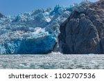 sawyer glacier cruise   Shutterstock . vector #1102707536