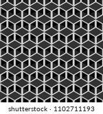 black isometric 3d cubes ...   Shutterstock .eps vector #1102711193