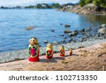 matryoshkas from alaska | Shutterstock . vector #1102713350