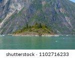 sawyer glacier cruise   Shutterstock . vector #1102716233