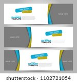 banner template. abstract... | Shutterstock .eps vector #1102721054