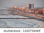 galveston  texas. cityscape... | Shutterstock . vector #1102726469