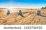 street signs on daytona beach... | Shutterstock . vector #1102736510
