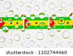 flags  of sao tome and principe ... | Shutterstock . vector #1102744460