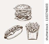 hand drawn vector illustration...   Shutterstock .eps vector #1102748603