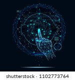 innovations systems connecting... | Shutterstock .eps vector #1102773764