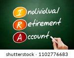 ira   individual retirement... | Shutterstock . vector #1102776683