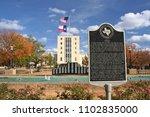 tyler  texas   november 14 ... | Shutterstock . vector #1102835000