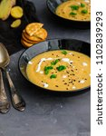 carrot  ginger  turmeric soup...