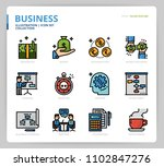 business icon and illustration | Shutterstock .eps vector #1102847276
