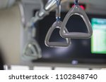 hand holding safety straps ... | Shutterstock . vector #1102848740