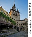 castle in romania stock images. ... | Shutterstock . vector #1102855154