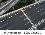 aerial view of highway and... | Shutterstock . vector #1102856510