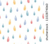 seamless vector pattern with... | Shutterstock .eps vector #1102874060