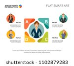 five managers company process... | Shutterstock .eps vector #1102879283