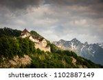 vaduz castle in lichtenstein | Shutterstock . vector #1102887149