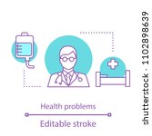 health problems concept icon.... | Shutterstock .eps vector #1102898639