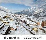 ski resort of passo del tonale...   Shutterstock . vector #1102901249