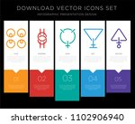 5 vector icons such as wisdom ... | Shutterstock .eps vector #1102906940