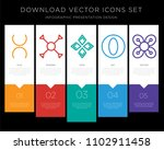 5 vector icons such as tin ... | Shutterstock .eps vector #1102911458