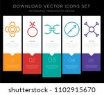 5 vector icons such as loyalty  ... | Shutterstock .eps vector #1102915670