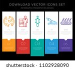 5 vector icons such as real...   Shutterstock .eps vector #1102928090