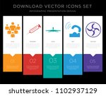 5 vector icons such as... | Shutterstock .eps vector #1102937129