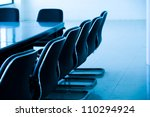 empty business conference room... | Shutterstock . vector #110294924