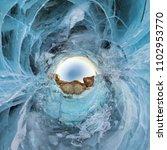 Blue Ice Lake Baikal Cliffs - Fine Art prints