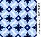 vector tie dye shibori print...   Shutterstock .eps vector #1102958450